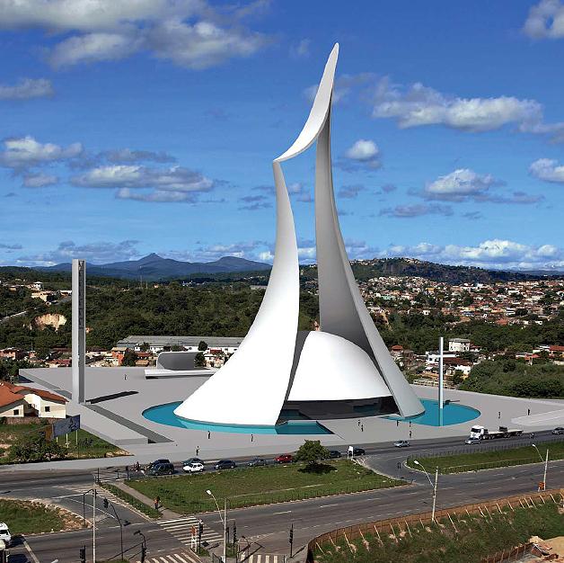 Local evento likewise Concreto Armado Inspira As Igrejas De Oscar Niemeyer moreover 2010 2011 Famous Landmarks Around the World also Catedral De Brasilia Pelas Lentes De Gonzalo Viramonte likewise Brasilia City Guide. on oscar niemeyer cathedral