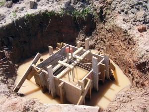 Concretagem de fundações: chuva é o maior inimigo desta etapa da obra