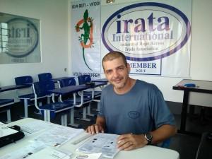 Alessandro Carvalho: engenheiros civis também têm se especializado em alpinismo industrial.