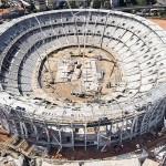 Arena Salvador: 74% das obras concluídas.