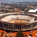 Estádio Nacional: 76% das obras concluídas.