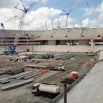 Arena Pernambuco: 64% das obras concluídas.