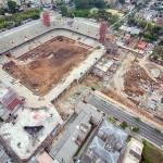 Arena da Baixada: 46% das obras concluídas.