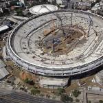 Maracanã: 70% das obras concluídas.