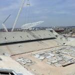 Arena São Paulo: 51,38% das obras concluídas.