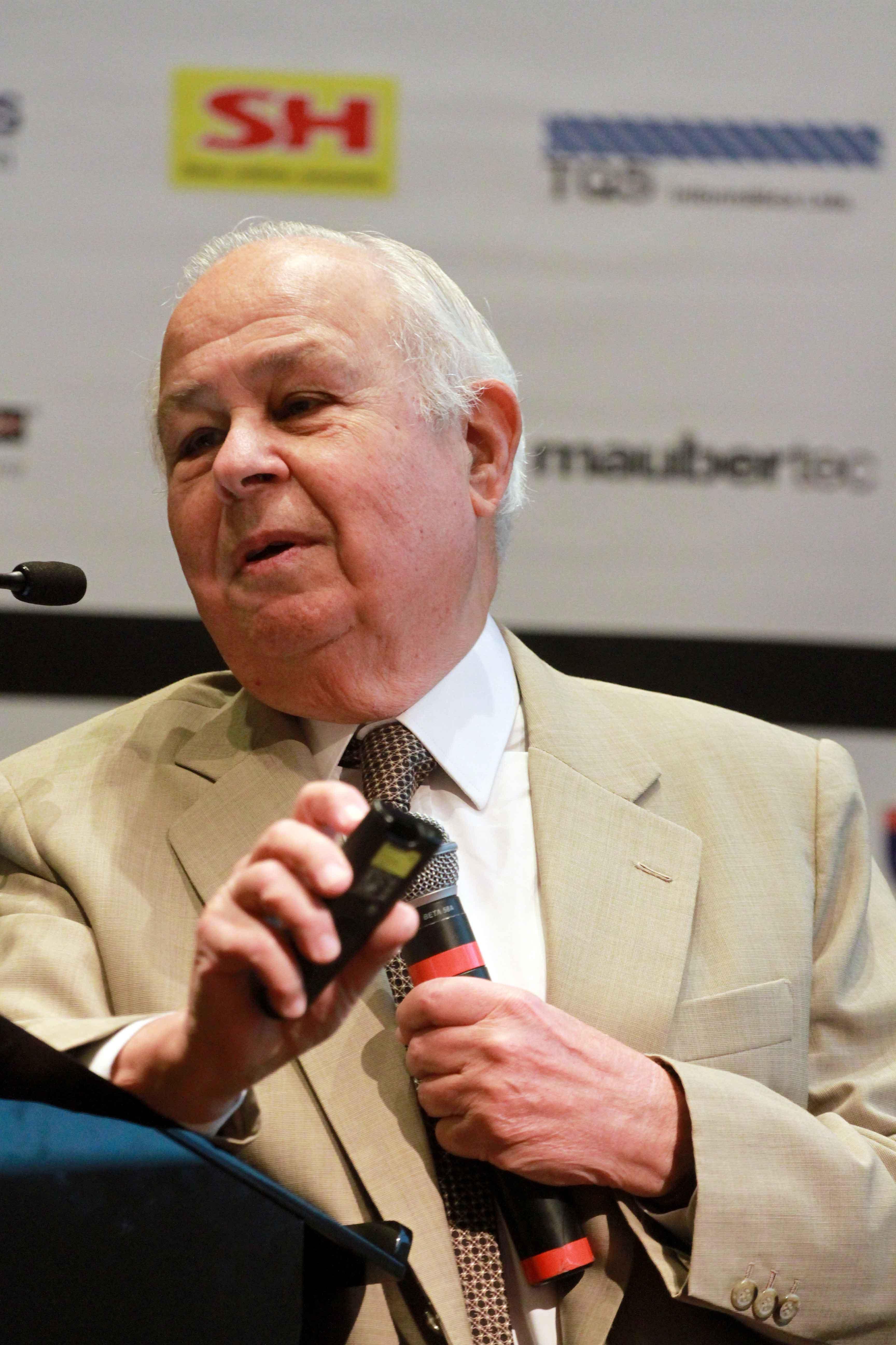 Mário Franco: decano da engenharia civil brasileira.