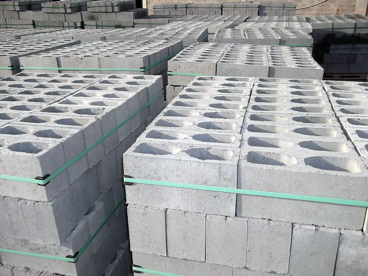 Blocos de concreto: bem construídos, eles tornam fábricas mais competitivas.