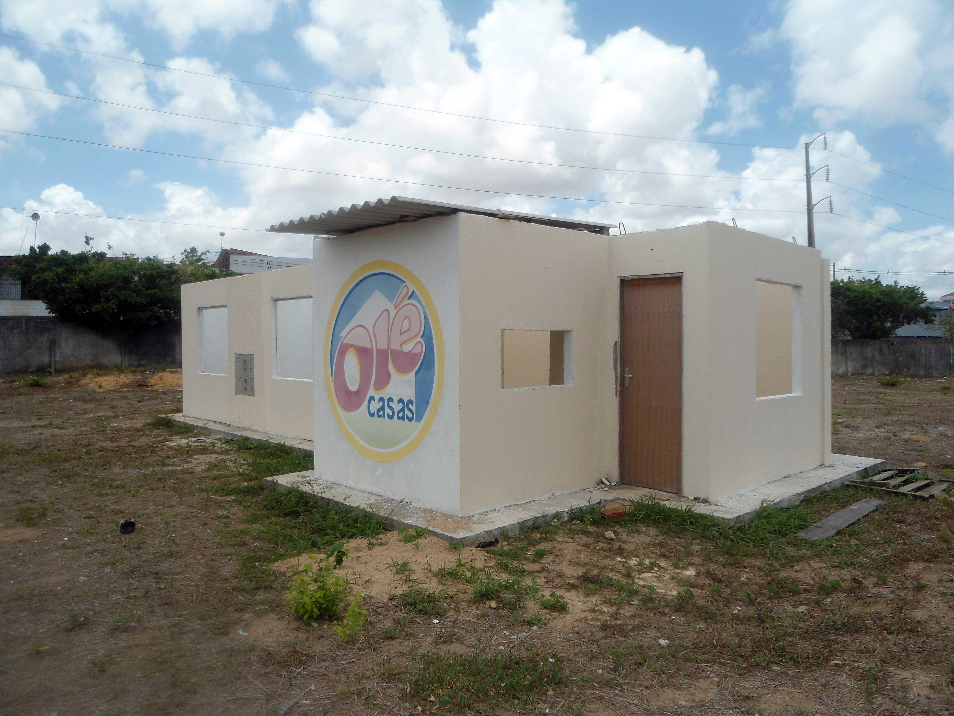 Casa Olé desenvolvida pelo Nutec serviu de protótipo para a produção em escala industrial.