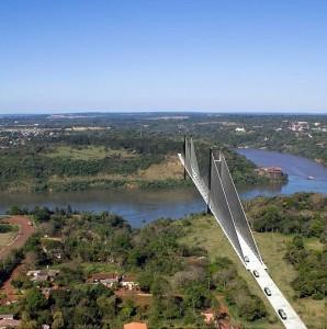 Ponte será estaiada e terá 760 metros de comprimento.