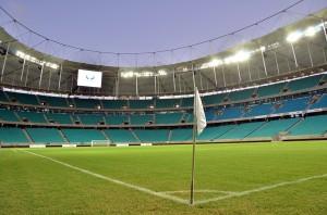 Arena Fonte Nova: obra envolveu 45 mil m³ de concreto.