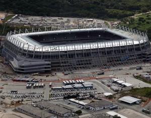 Arena Pernambuco: teto funciona como usina solar.