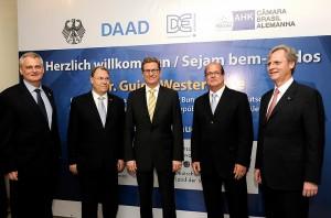 Parceria Brasil-Alemanha pode oferecer até 10 mil bolsas aos brasileiros.