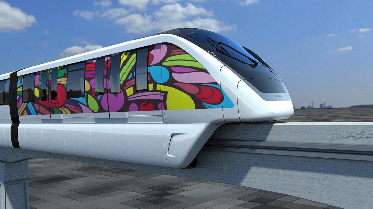 Trem do modal será elétrico e com capacidade para transportar mil passageiros.