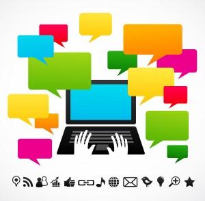 Redes sociais: 41% dos internautas estão nelas para pesquisar marcas.