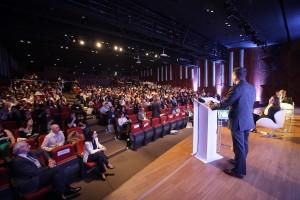 Palestra de John Lee foi assistida por vários protagonistas da construção civil brasileira
