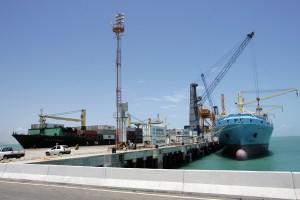 Porto de Pecém, no Ceará: ligação entre Ásia e Europa será facilitada