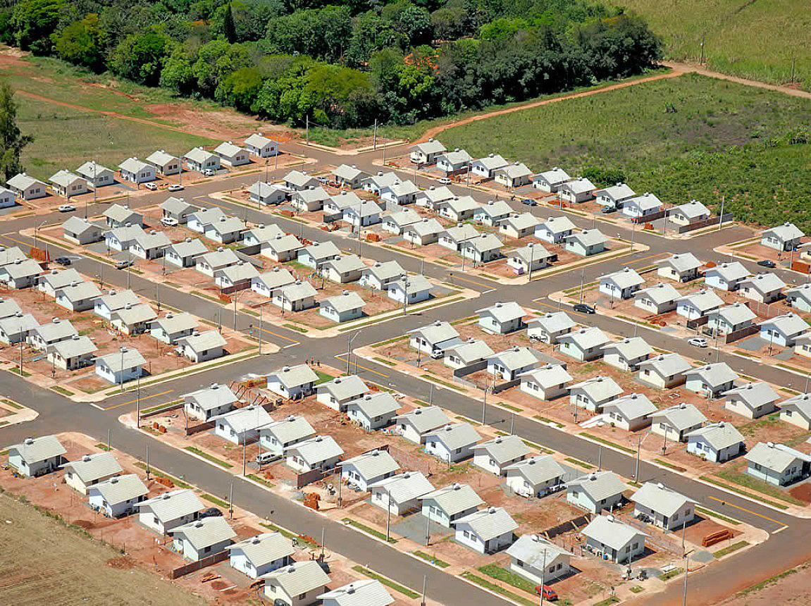 Conjunto Iguatemi, construído pela Provectum: empresa já empreendeu três mil unidades para o MCMV
