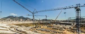 Novas arquibancadas do Maracanã foram concebidas através de estruturas mistas de aço com pré-fabricados de concreto
