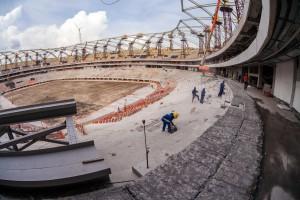 Arena da Amazônia: execução das obras chegou a 89,90% em novembro