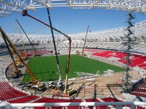 Beira-Rio, em Porto Alegre: reforma do estádio chega aos 90%