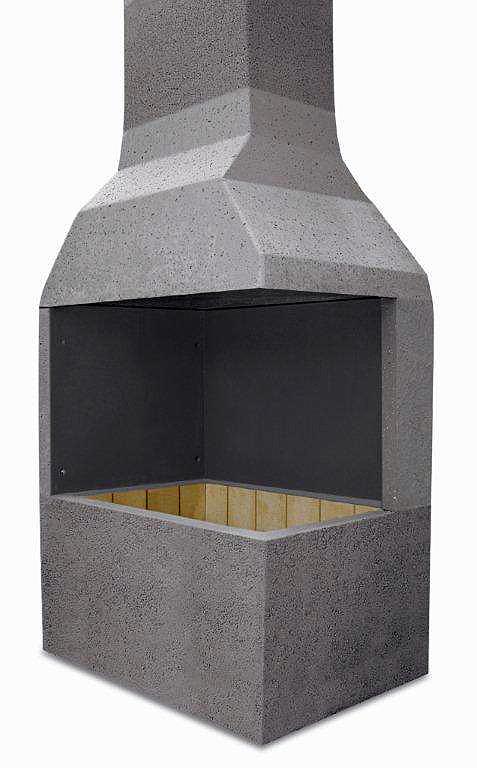 Churrasqueiras pré-fabricadas à base de concreto: mais eficientes do que as feitas em alvenaria