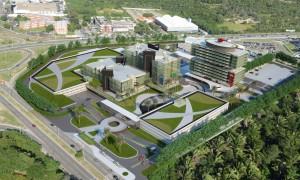 Complexo administrativo do Maranhão: projeto equilibra obras novas com retrofit.