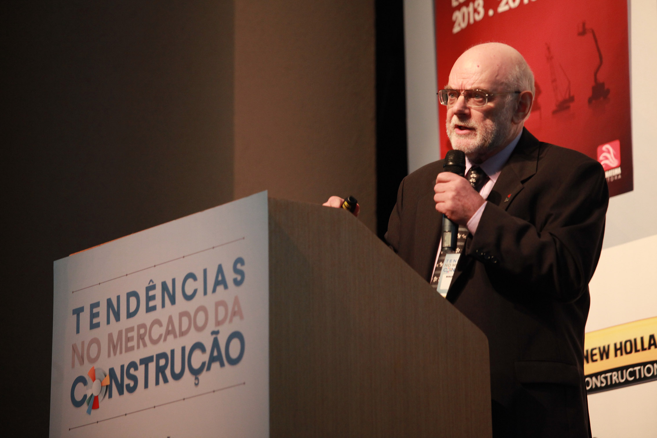 Brian Nicholson: economista realizou estudo encomendado pela Sobratema