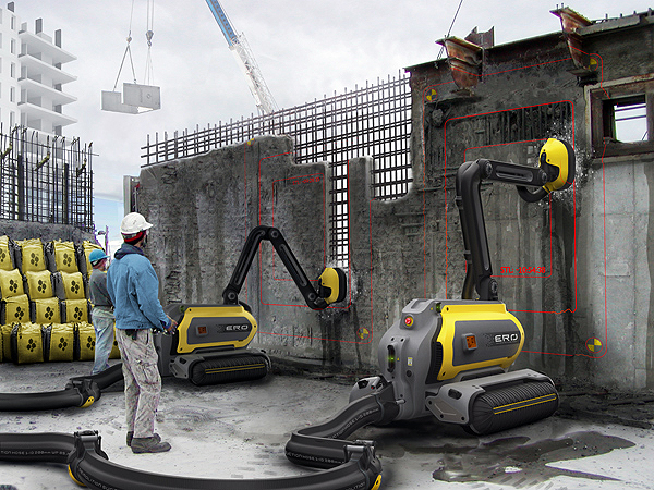 novidades na construção civil robô construtor