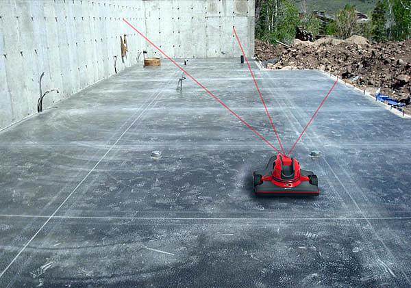 Robô usa scanner a laser para detectar erros na execução de projetos