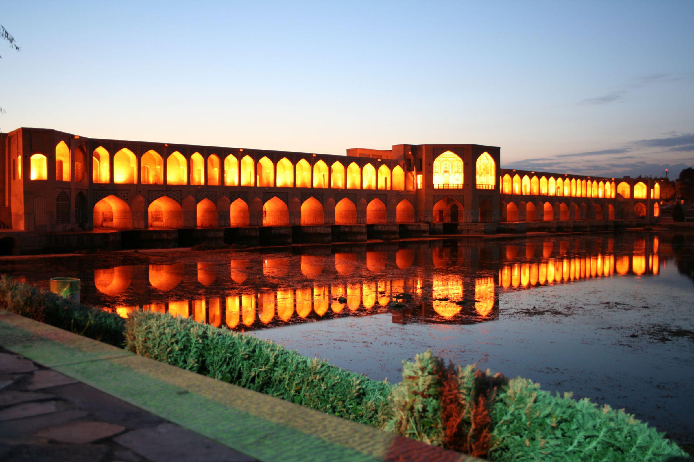 Khaju Bridge: obra com mais de 350 anos continua intacta no Irã