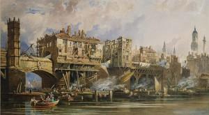 Old London Bridge: usada de 1176 a 1831, até hoje é considerada uma obra inovadora