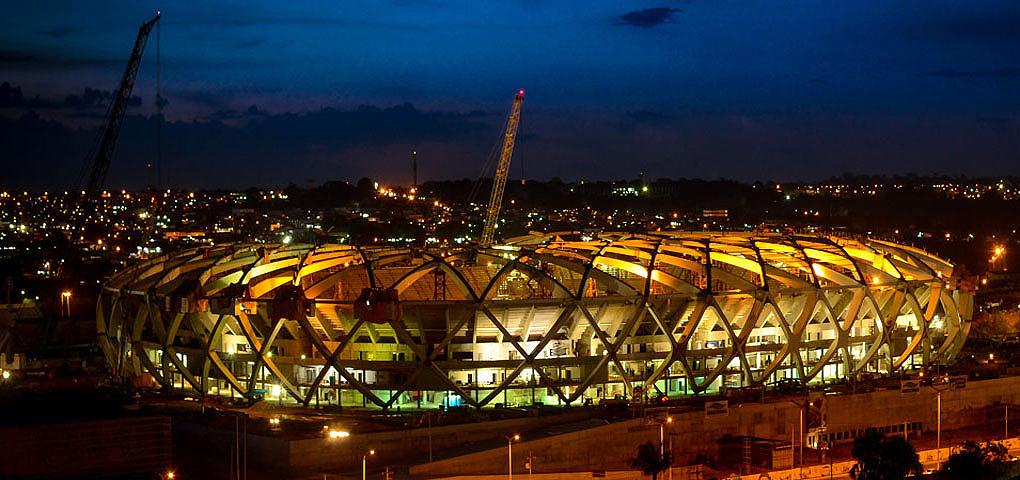 Arena da Amazônia: porta de entrada para que a alemã GMP (Gerkan, Mark und Partner) se instalasse no Brasil