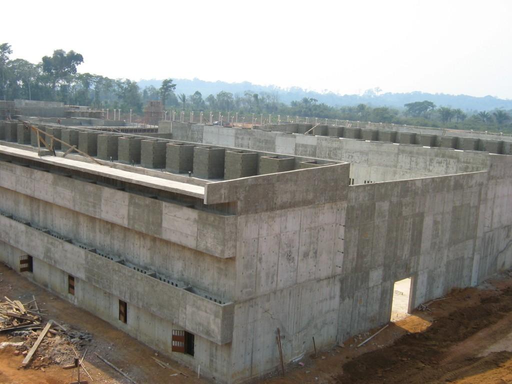 Presídio de segurança máxima em Porto Velho - RO: concreto de 120 MPa