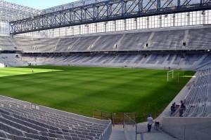 Arena da Baixada: estádio era para ser o primeiro a ficar pronto, mas tornou-se o último