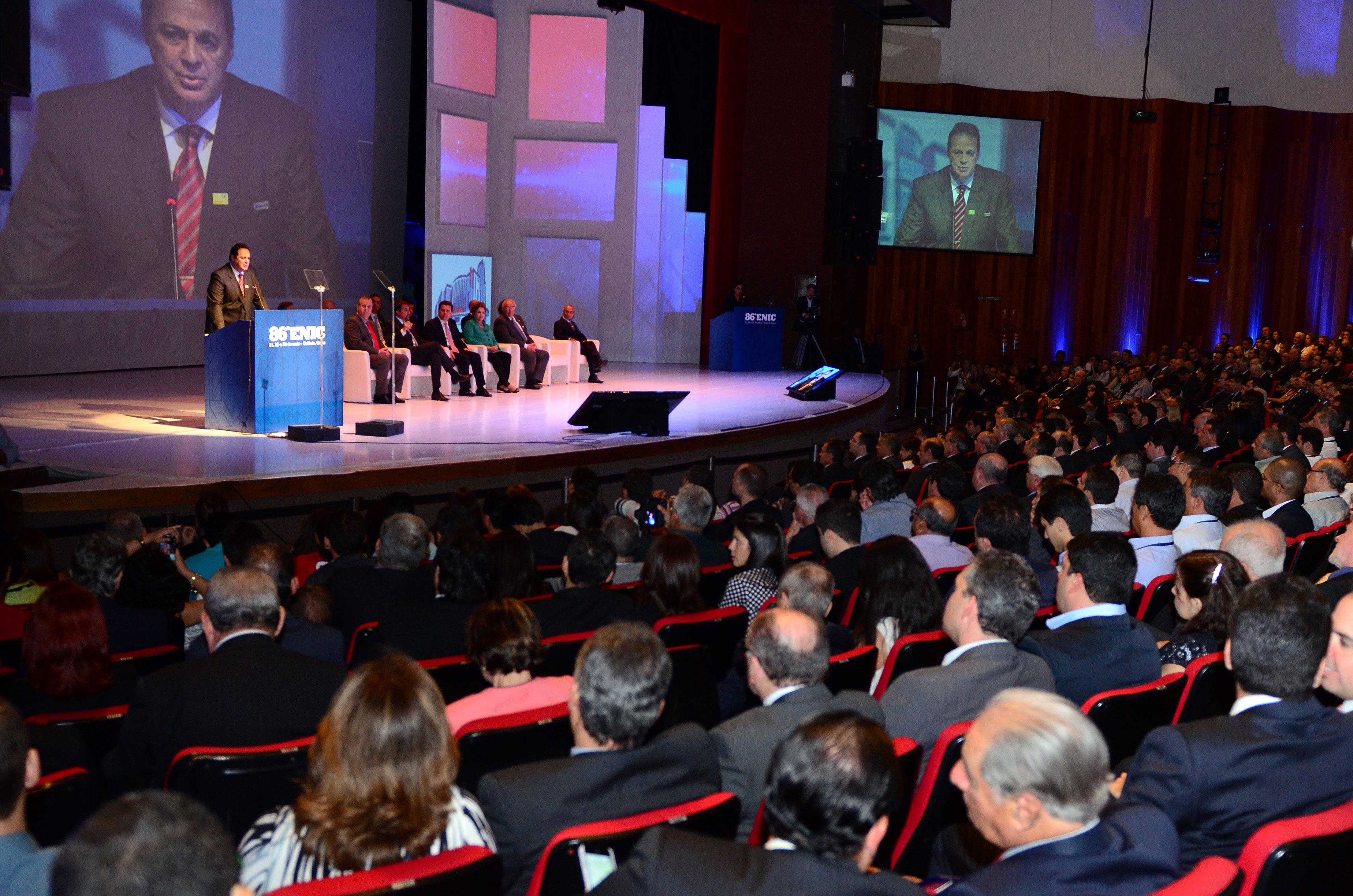 ENIC 2014: evento aconteceu no final de maio e arrancou comprometimento dos presidenciáveis
