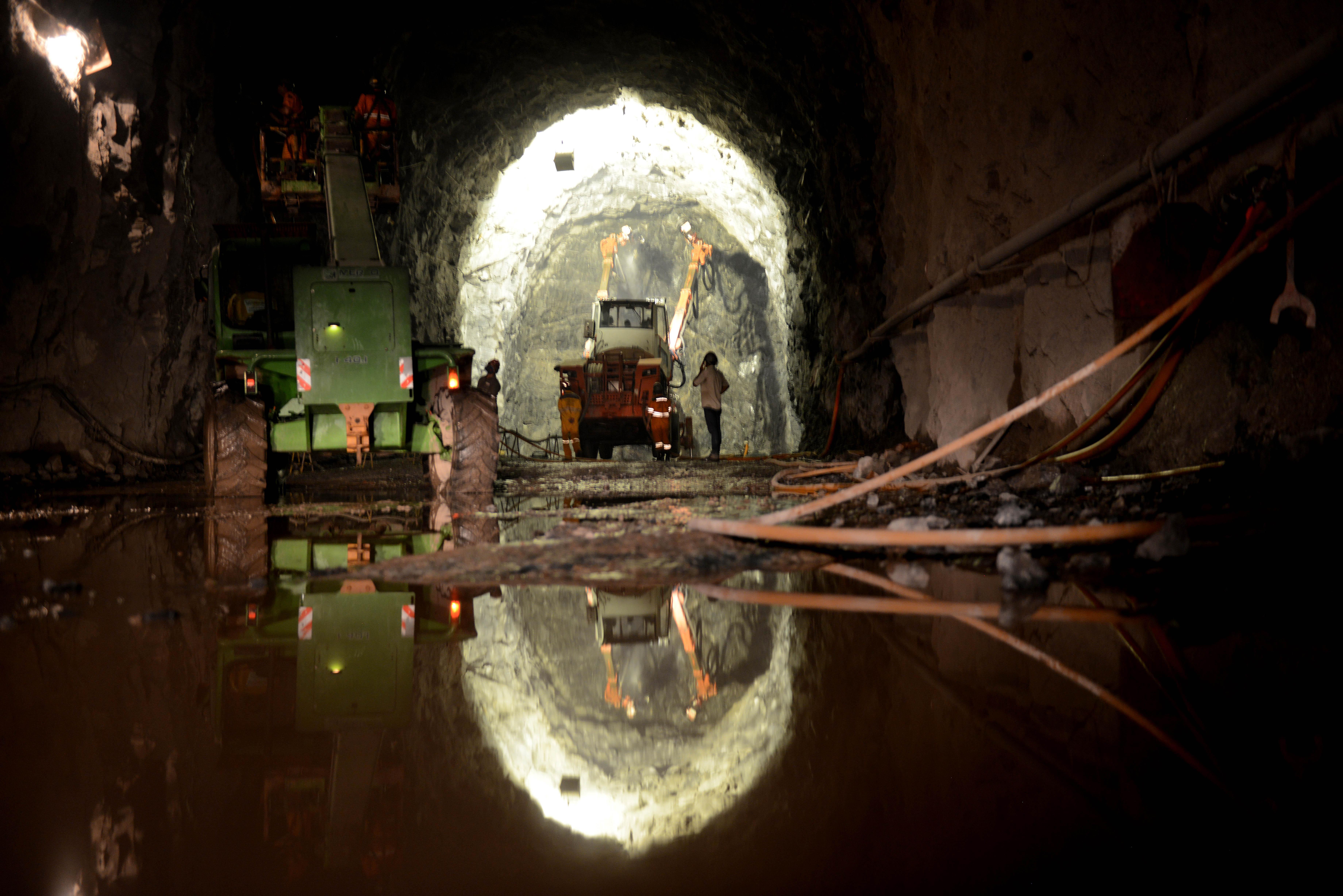 Túneis do Cuncas: obra de 15 quilômetros faz parte da transposição do rio São Francisco, cuja conclusão já está atrasada em cinco anos