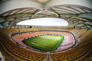 Arena Amazônia: cobertura em aço imita cesto de vime e sensibiliza arquitetos e designers.