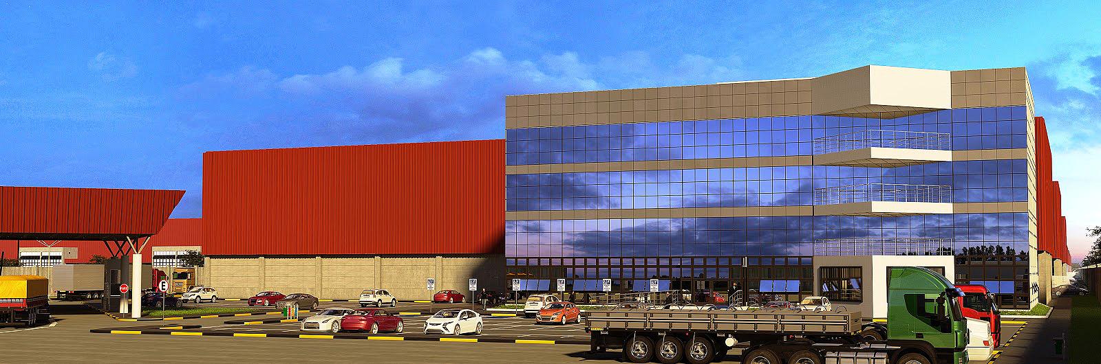 Navpark, em Navegantes: 89,6 mil m² de área construída.