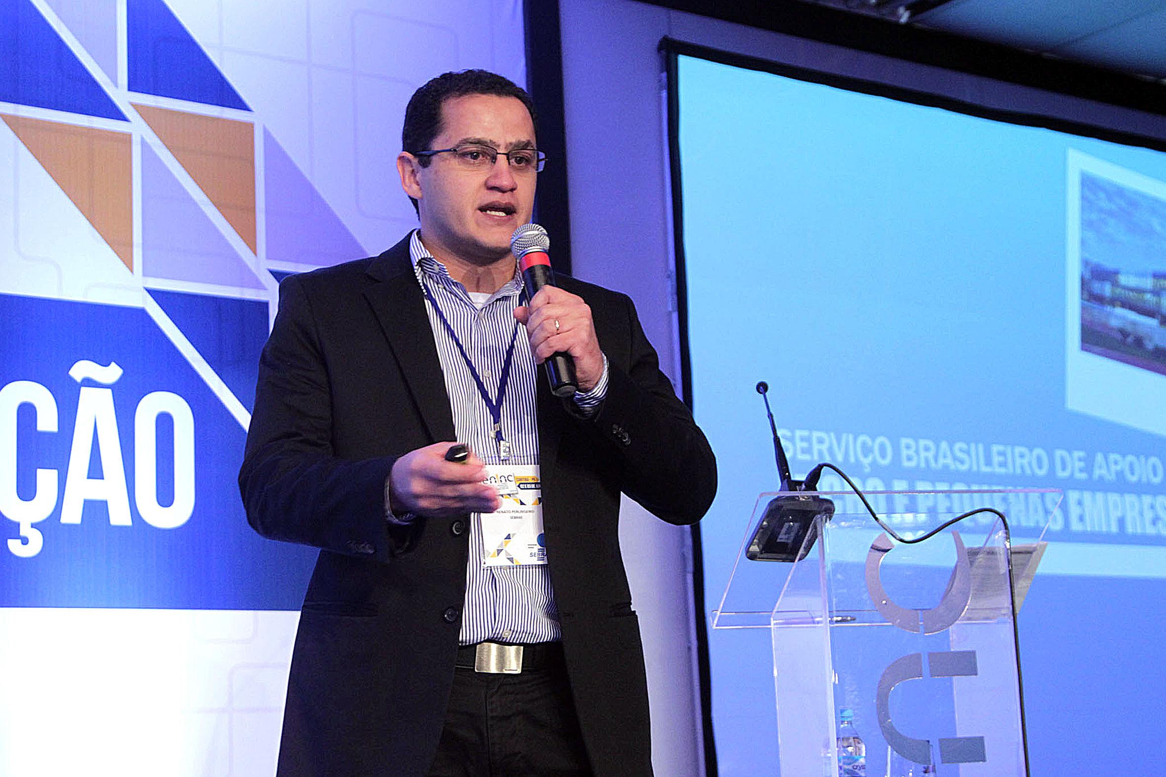 Renato Perlingeiro Júnior, superintendente do Sebrae: objetivo é intermediar a relação entre grandes e pequenas empresas.