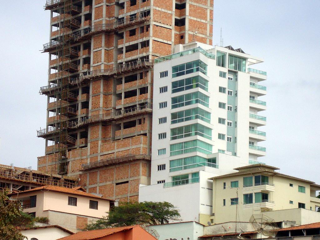 Cidade de Lafaiete, no interior de Minas Gerais: atraindo prédios com mais de dois quartos