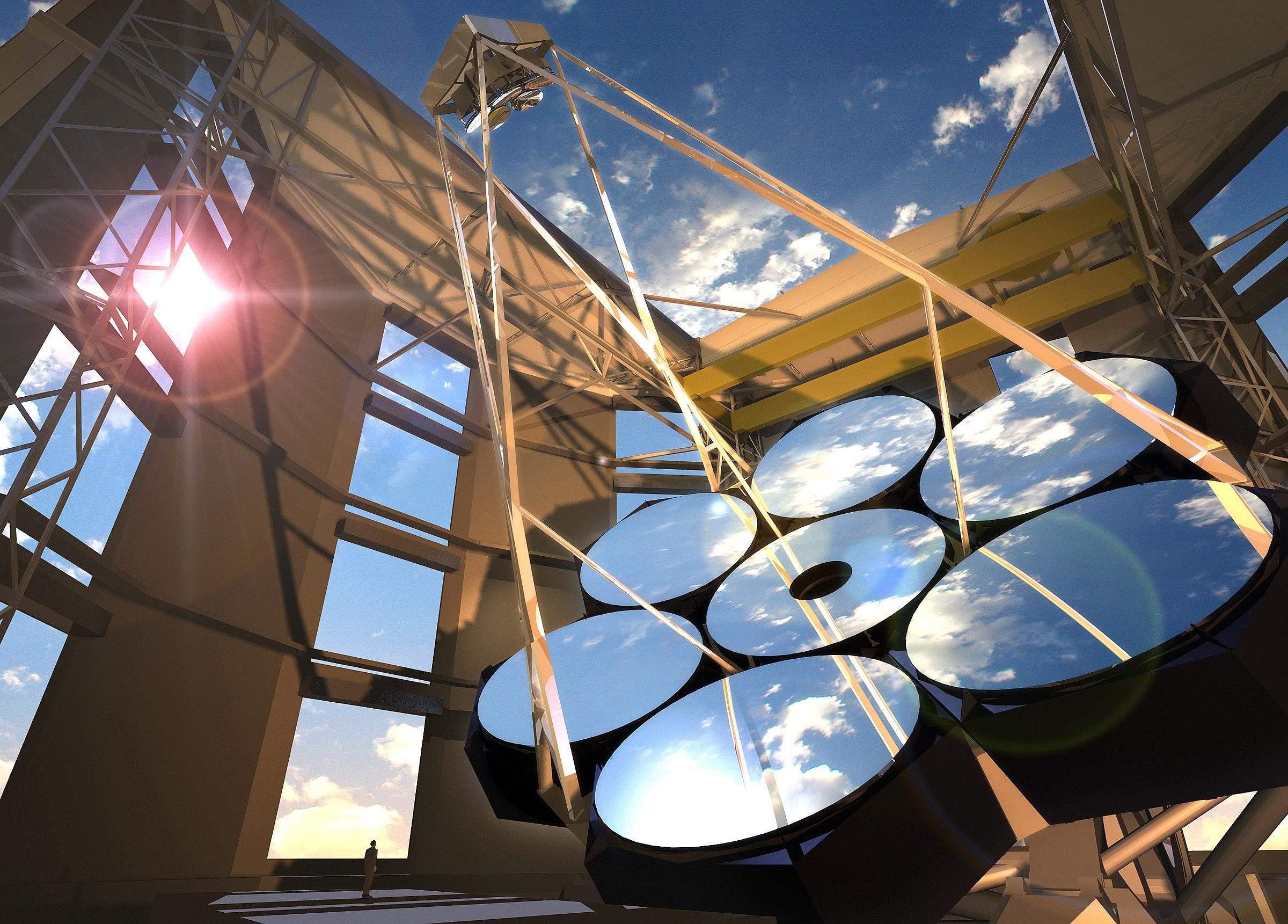 Espelhos gigantes para telescópios: uma das aplicações do concreto óptico desenvolvido na Holanda