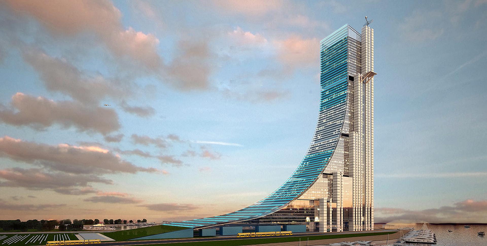 Obras inovadoras: Torre Rampa em Buenos Aires