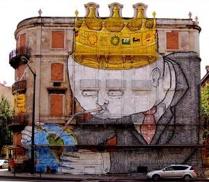 Os Gêmeos deixam sua marca em Lisboa, Portugal: dupla é considerada ícone da arte de rua - Crédito: Os Gêmeos