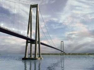 Ponte Chacao: 38 mil m³ de concreto e 1.300 toneladas de aço
