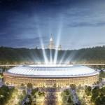 Estádio Lujniki, em Moscou: qualquer semelhança com o Maracanã é mera coincidência