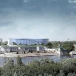 Estádio Nizhny Novgorod: arquitetura semelhante ao Mané Garrincha, de Brasília