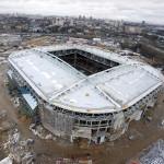 Otkytie Arena, também em Moscou: Arena Pernambuco inspirou o estádio em construção