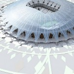 Estádio de Samara: considerado o mais bonito da Copa da Rússia
