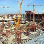 Zenit Arena, em São Petersburgo: segundo maior estádio da Copa de 2018