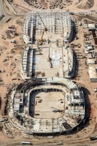Obras no parque olímpico investem na construção industrializada para cumprir cronograma
